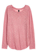 Fine-knit jumper - Pink - Ladies | H&M CN 1