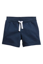 Shorts in jersey - Blu scuro - BAMBINO | H&M IT 1