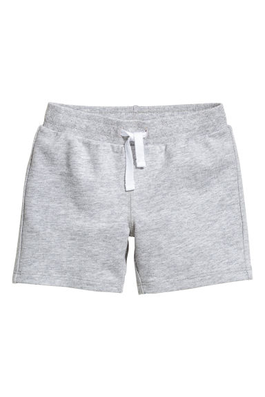 Jersey shorts - Grey marl - Kids | H&M CN 1
