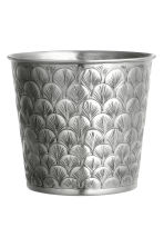 Large metal pot - Silver - Home All | H&M 1