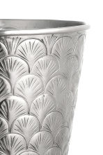 Metal plant pot - Silver - Home All | H&M CN 2