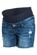 MAMA Denim shorts - Denim blue - Ladies | H&M 2