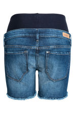 MAMA Denim shorts - Denim blue - Ladies | H&M 3