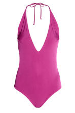 Halterneck swimsuit - Heather purple - Ladies | H&M CN 2