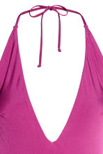 Halterneck swimsuit - Heather purple - Ladies | H&M CN 3
