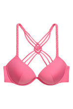 Push-up bikini top - Pink - Ladies | H&M CN 2