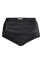 H&M+ Draped bikini bottoms - Black - Ladies | H&M CA 3