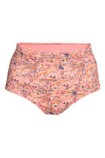 H&M+ Draped bikini bottoms - Pink/Paisley - Ladies | H&M 2