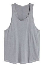 Sports top - Grey marl - Men | H&M 2