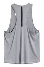 Sports top - Grey marl - Men | H&M CN 3