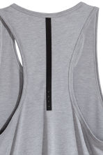 Sports top - Grey marl - Men | H&M CN 4