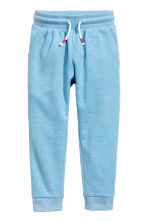 Sweatpants - Blue/Glittery -  | H&M 2