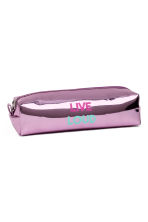 Pencil case - Purple/Metallic - Ladies | H&M CA 1
