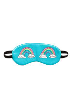 Sleep mask - Turquoise/Rainbow - Ladies | H&M 1