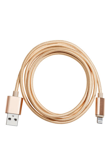 Charging cable - Gold - Ladies | H&M 1