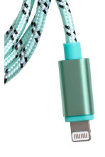 Charging cable - Turquoise - Ladies | H&M CN 2