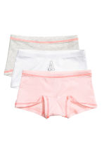 3-pack boxer briefs - Light pink -  | H&M 1