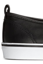 Slip-on trainers - Black - Ladies | H&M 4