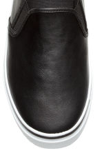 Slip-on trainers - Black - Ladies | H&M CN 3