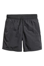 Knee-length swim shorts - Black - Men | H&M CN 2