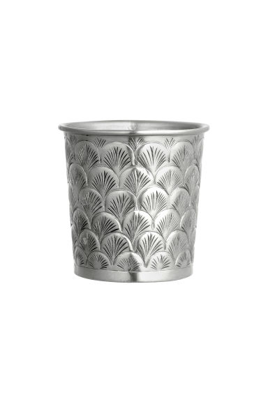 Piccolo vaso in metallo - Argentato - HOME | H&M IT 1