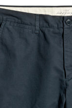 Chino shorts - Dark blue -  | H&M 4