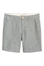 Chino shorts - Dark blue/Chambray - Men | H&M 1
