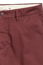 Chino shorts - Burgundy - Men | H&M 3