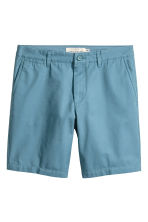 Chino shorts - Pigeon blue - Men | H&M CN 2