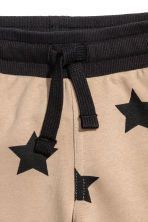 Sweatshirt shorts - Beige/Stars -  | H&M IE 3