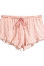 2-pack pyjama shorts - Apricot/Striped - Ladies | H&M 4