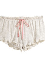 2-pack pyjama shorts - Apricot/Striped - Ladies | H&M 3