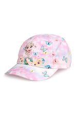 Patterned cap - Light pink/Frozen - Kids | H&M CN 1