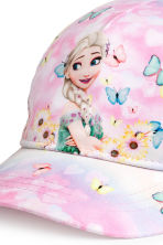 Patterned cap - Light pink/Frozen - Kids | H&M CN 2