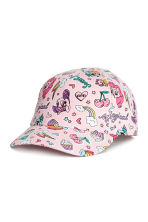 Patterned cap - Light pink/My Little Pony - Kids | H&M CN 1