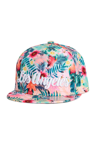 Cotton twill cap - Pink/Los Angeles - Kids | H&M 1