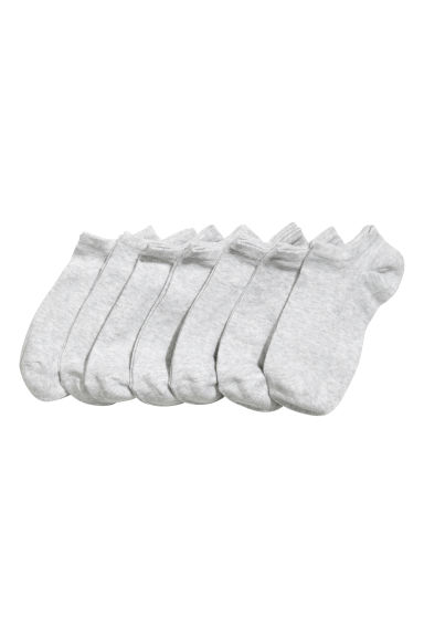 7-pack trainer socks - Grey - Ladies | H&M 1
