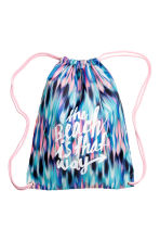 Gym bag - Turquoise/Pink - Kids | H&M 1