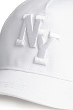 Cotton cap - White/New York - Kids | H&M 2