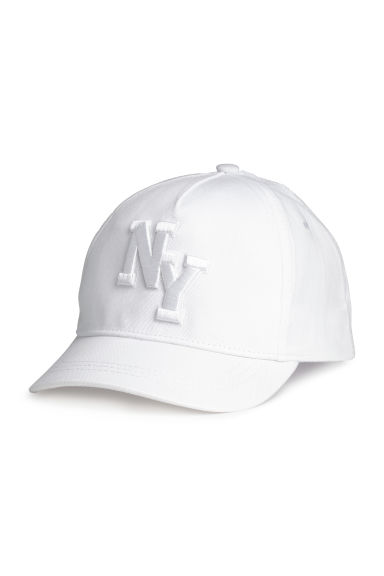 Cotton cap - White/New York - Kids | H&M 1