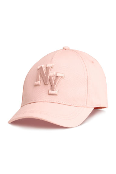 Cotton cap - Light pink/New York - Kids | H&M CN 1