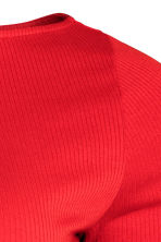 H&M+ Ribbed top - Red -  | H&M 3