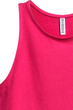 Sleeveless jersey dress - Cerise - Ladies | H&M 3