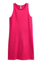 Sleeveless jersey dress - Cerise - Ladies | H&M 2