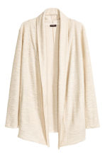 Draped cardigan - Natural white - Men | H&M CN 2