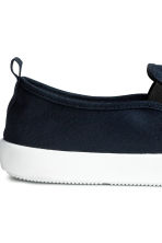 Slip-on trainers - Dark blue - Men | H&M 6