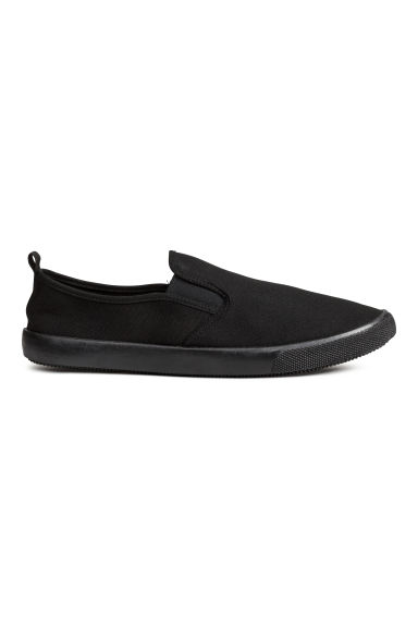 Slip-on trainers - Black - Men | H&M IE