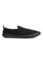 Slip-on trainers - Black - Men | H&M CN 1