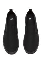 Slip-on trainers - Black - Men | H&M CN 2