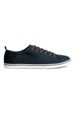 Trainers - Dark blue - Men | H&M 1